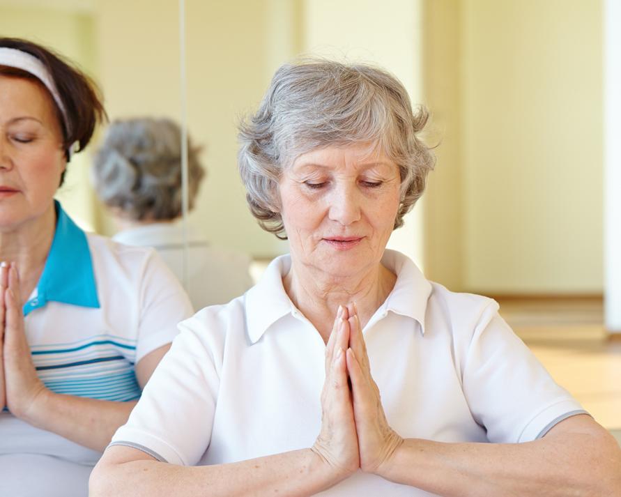 Relaxació Tallers de salut comunitària Atenció Primària Vallcarca Sant Gervasi