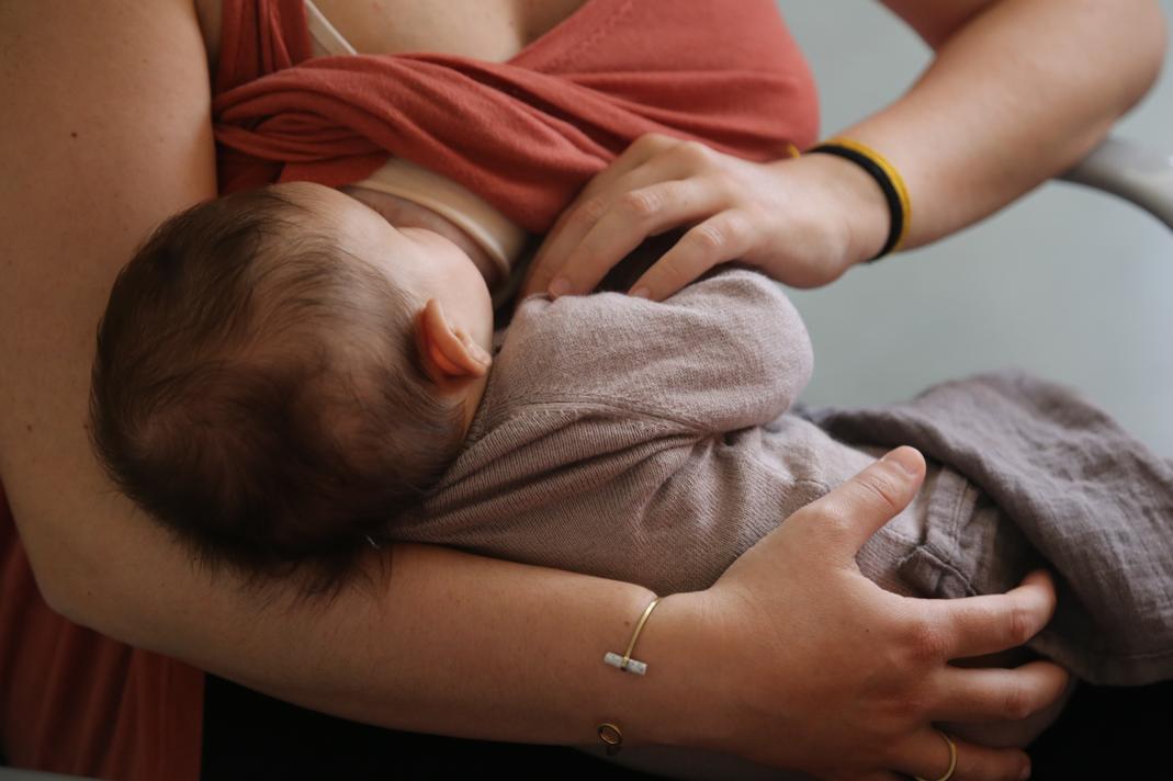 Suport a la lactància materna Tallers de salut comunitària d'Atenció Primària Vallcarca Sant Gervasi