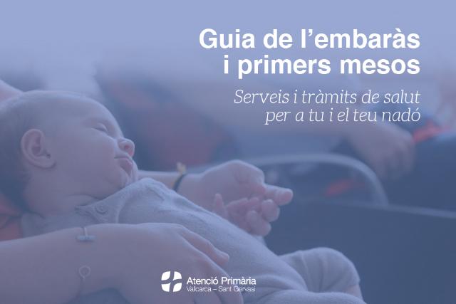 Guia del embaràs i els primers mesos - CAP Vallcarca Sant Gervasi