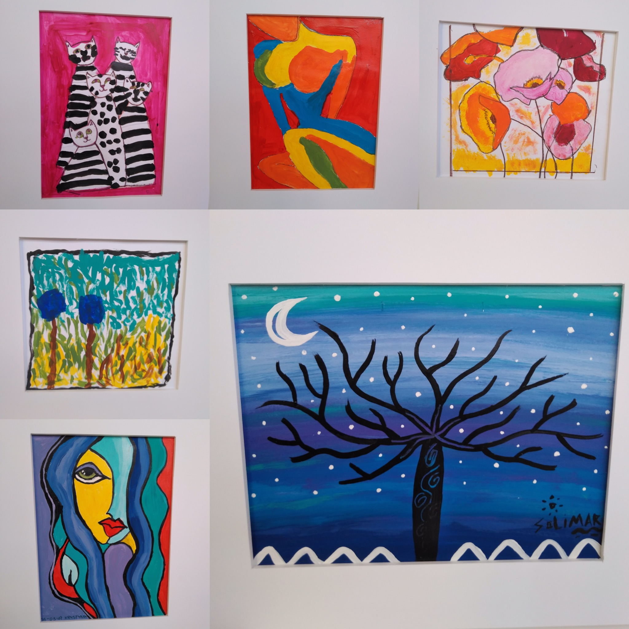 Exposició de pintura a EBA Vallcarca