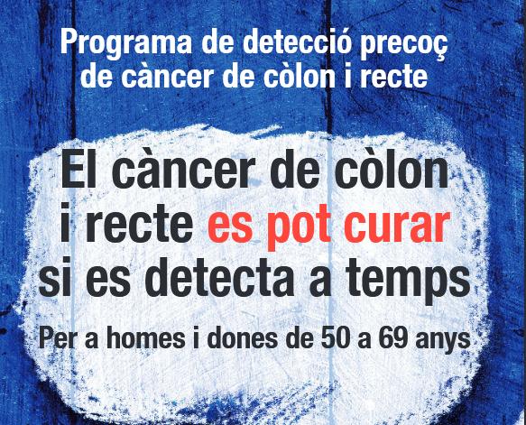 Programa de detecció precoç de càncer de còlon i recte