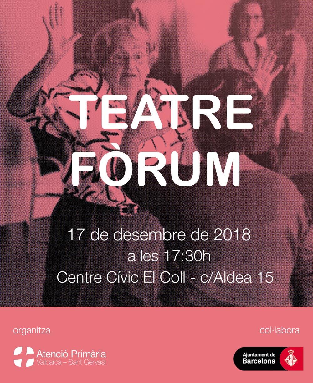 Teatre fòrum - Atenció Primària Vallcarca-Sant Gervasi