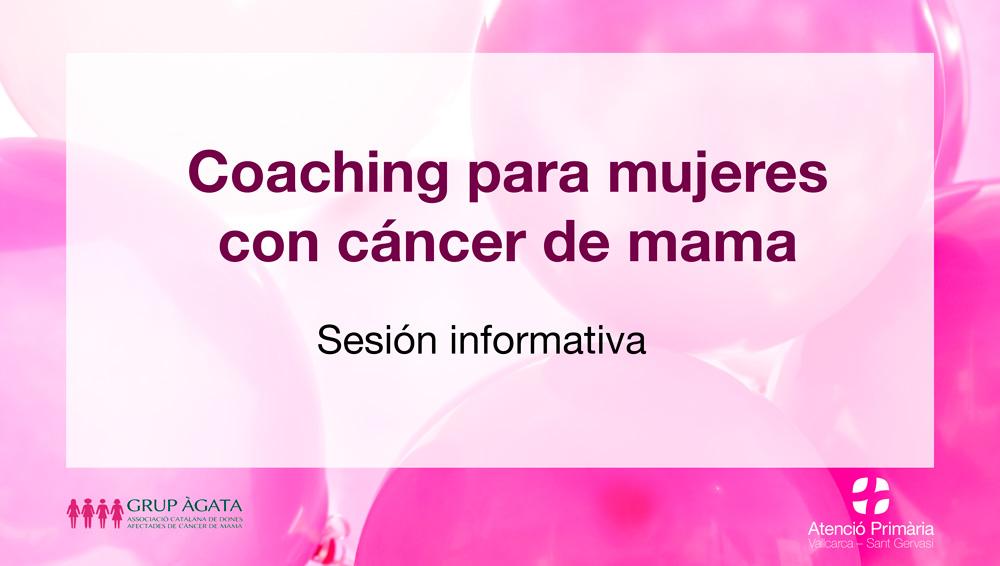 Coaching para mujeres con cáncer de mama - Atenció Primària Vallcarca-Sant Gervasi