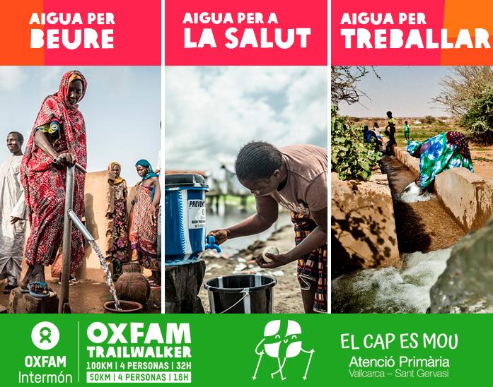 Trailwaker Oxfam - Atenció Primària Vallcarca-Sant Gervasi