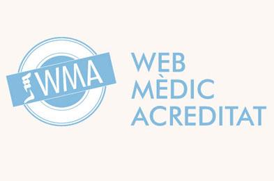 WMA web mèdic acreditat CAP Vallcarca Sant Gervasi