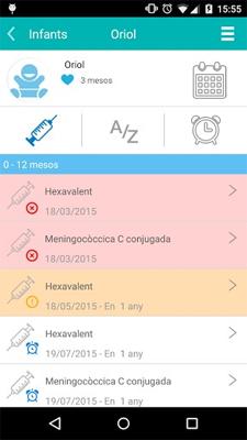 ivacunes app - CAP Vallcarca Sant Gervasi