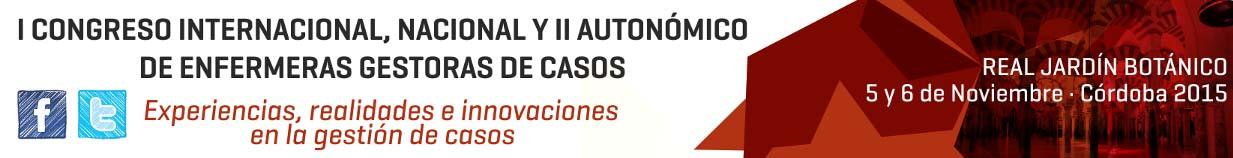 I Congreso Internacional, Nacional y II Autonómico de enfermeras Gestoras de Casos