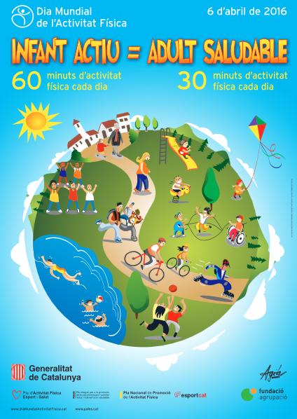 Dia mundial de l'activitat física 2016 - Atenció Primària Vallcarca Sant Gervasi