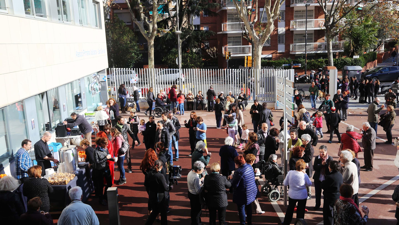 Festa solidària amb la Marató 2016