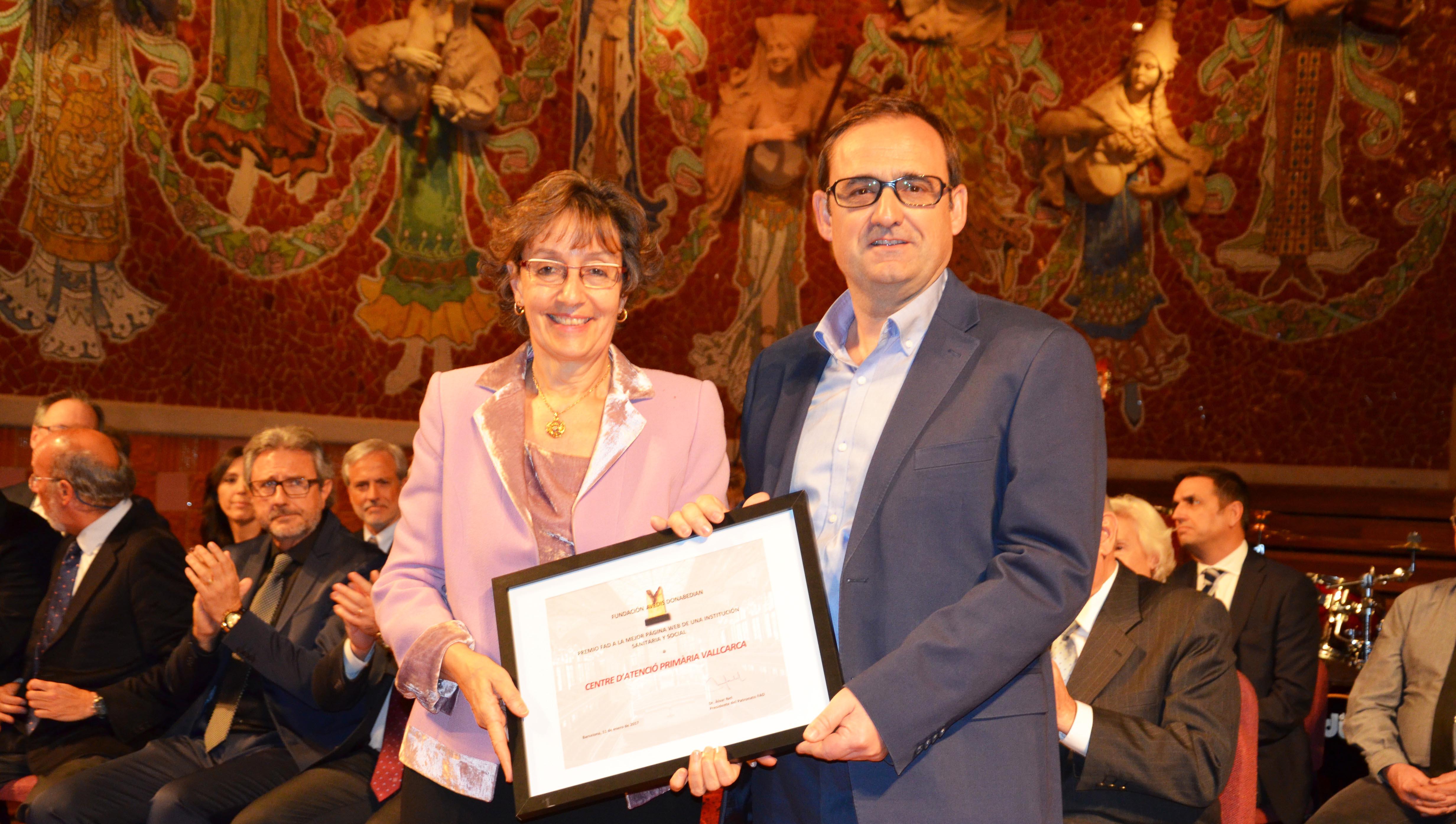 Premi Avedis Donabedian al millor web 2017