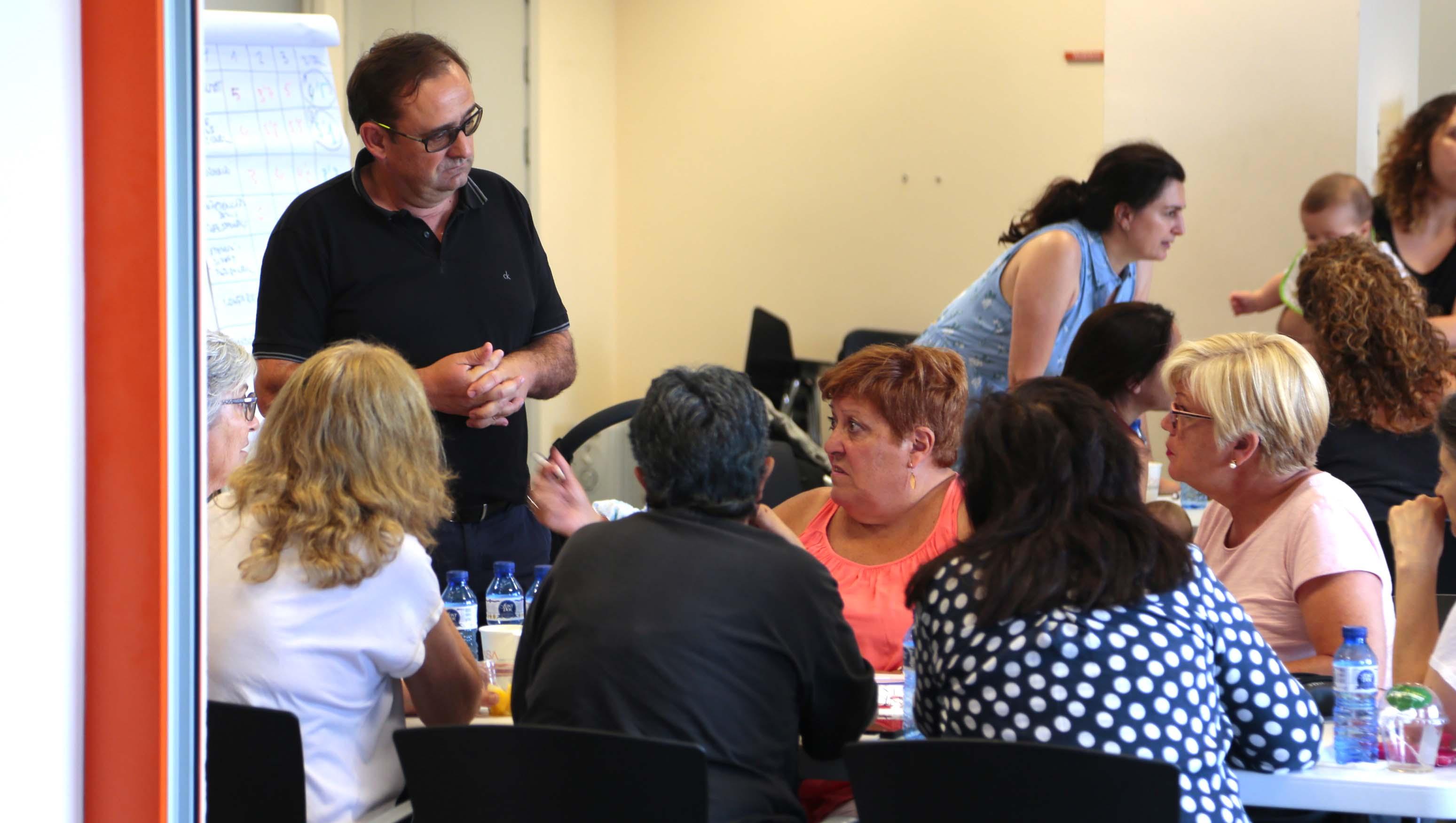 Sessió de diàleg - Atenció Primària Vallcarca - Sant Gervasi