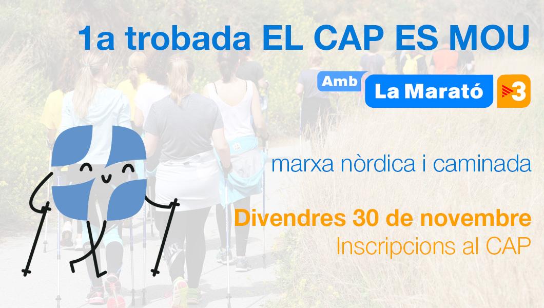 EL CAP es mou amb La Marató