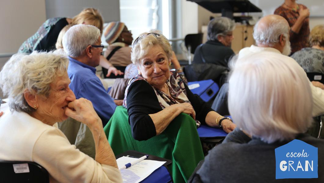 Escola de Salut de les persones grans 2020 - Atenció Primària Vallcarca-Sant Gervasi