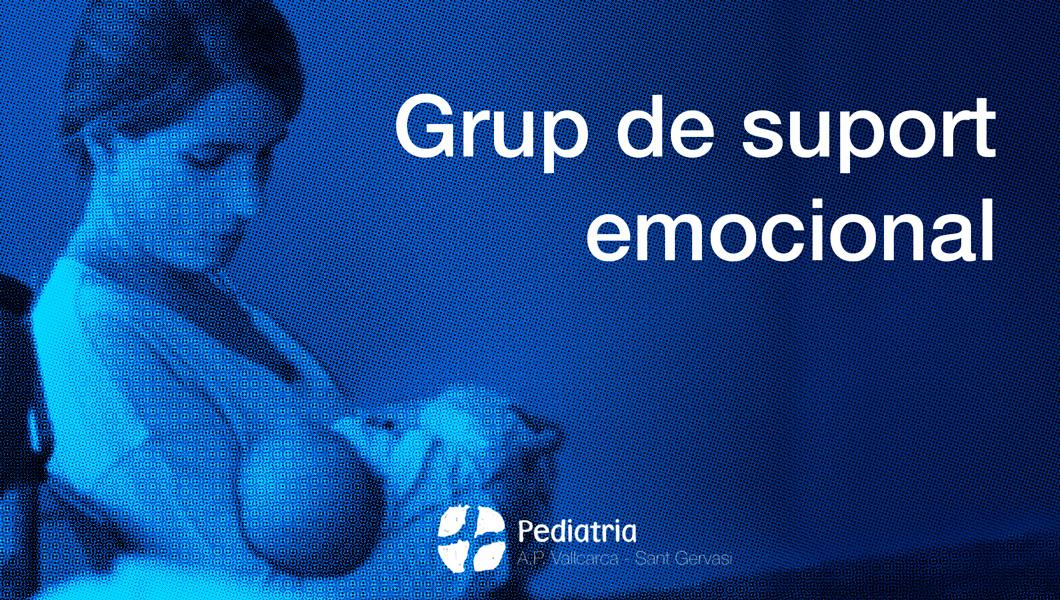 Suport emocional - Pediatria Atenció Primària Vallcarca-Sant Gervasi