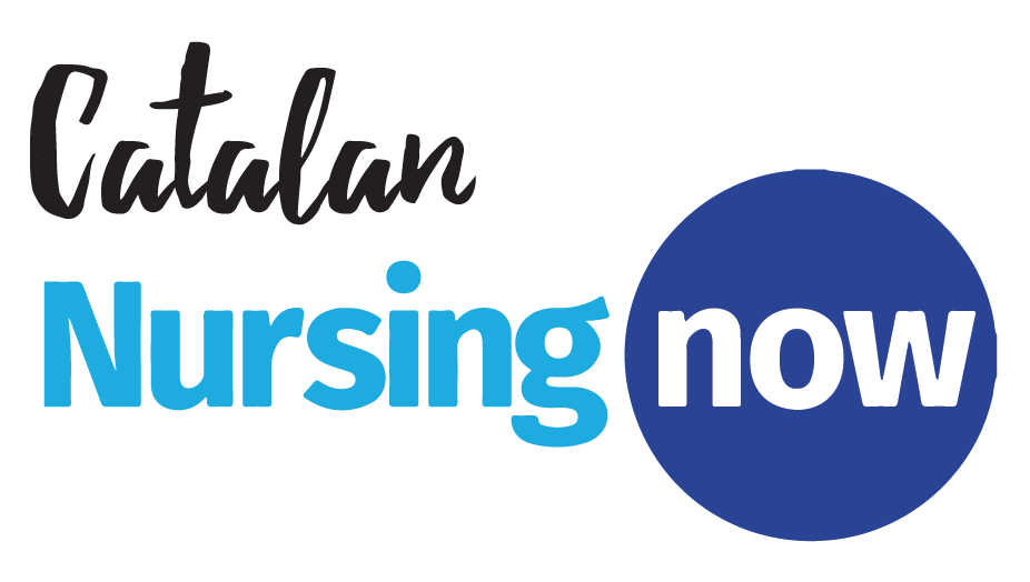 Logotip Nursing Now - Atenció Primària Vallcarca-Sant Gervasi