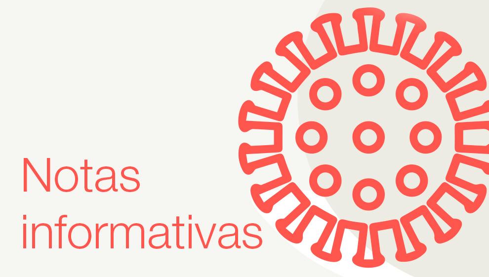 Notas informativas covid-19 - Atención Primaria Vallcarca-Sant Gervasi