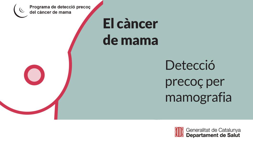 Programa de detecció precoç del càncer de mama