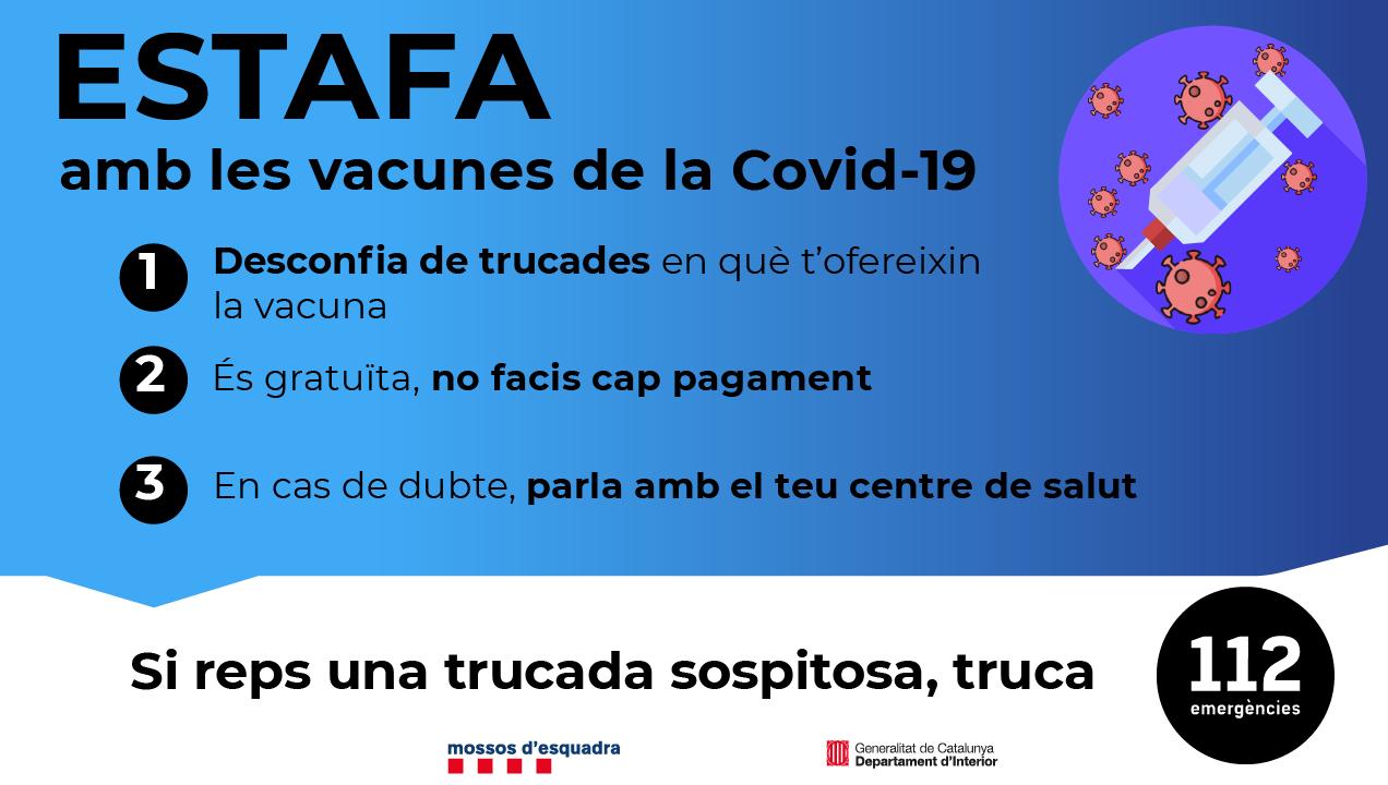 Estafes amb les vacunes de la covid-19 - Atenció Primària Vallcarca-Sant Gervasi