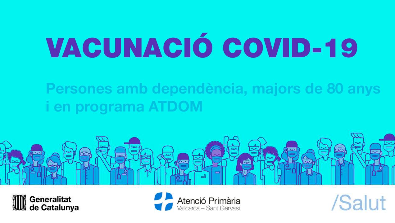 Vacunació covid-19 - Atenció Primària Vallcarca-Sant Gervasi
