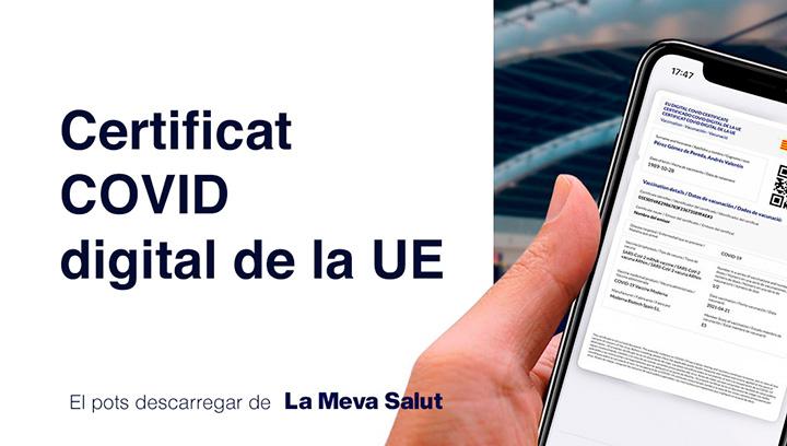 Certificat digital COVID - Atenció Primària Vallcarca-Sant Gervasi