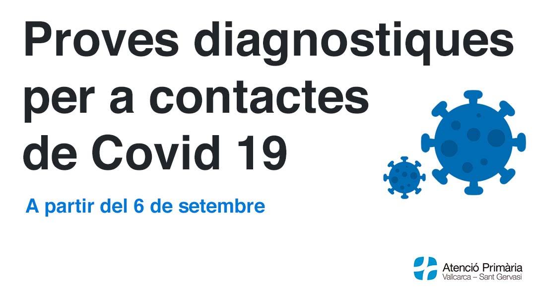 Proves diagnostiques per a contactes estrets